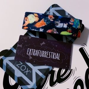 ZOX Strap Wristband- Extrafurrestrial *Space Dogs